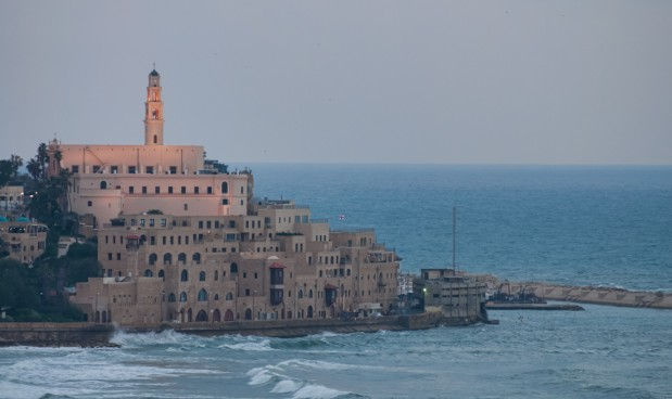 Joppa, as seen from the hotel.