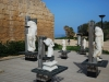 Statues at Caesarea