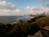 Tel Aviv and the Mediterranean Sea.