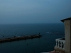 The ancient sea walls of the port city of Joppa.