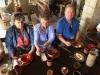 Lunch at the Nazareth Villagea