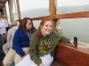 Dee and Tori on the Sea of Galilee