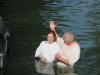 Tori's Baptism in the Jordan River