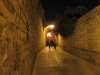 Jerusalem streets at night